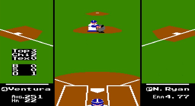 Here's what the Nolan Ryan-Robin Ventura fight would look like on RBI Baseball.